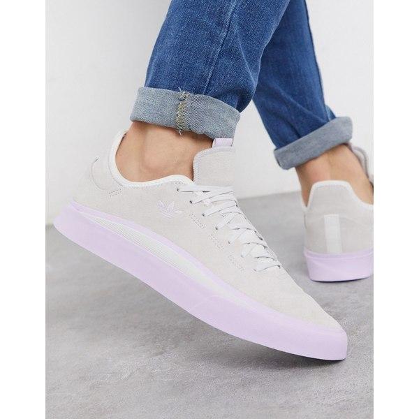 アディダスオリジナルス メンズ スニーカー シューズ adidas Originals sabalo sneakers in blue suede Bl1 - blue 1