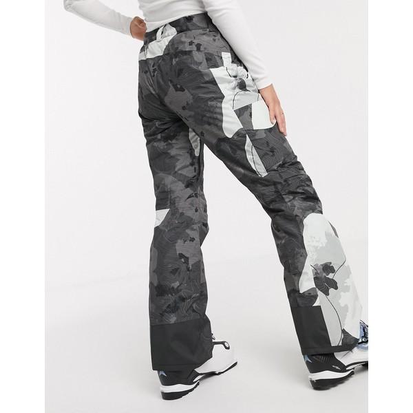 ノースフェイス レディース カジュアルパンツ ボトムス The North Face Freedom insulated ski pant in gray Gray