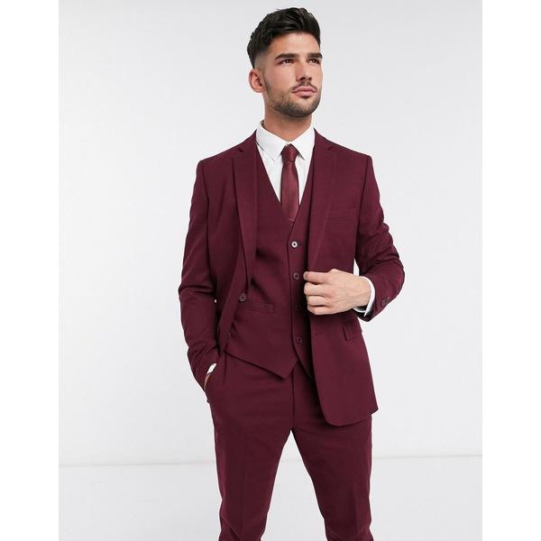 フレンチコネクション メンズ ジャケット&ブルゾン アウター French Connection wedding slim fit flannel suit jacket Chateaux