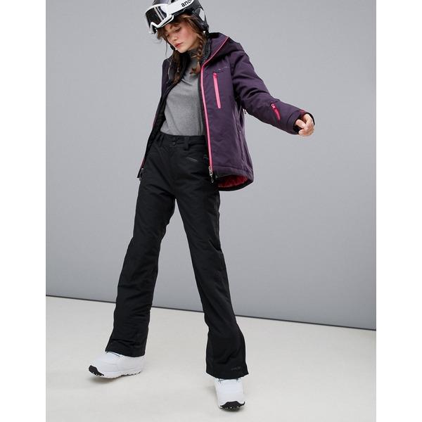 プロテスト レディース カジュアルパンツ ボトムス Protest Kensington ski pants in black Black