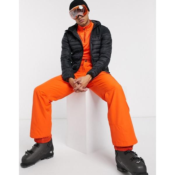 プロテスト メンズ カジュアルパンツ ボトムス Protest Densy ski pant in orange Orange