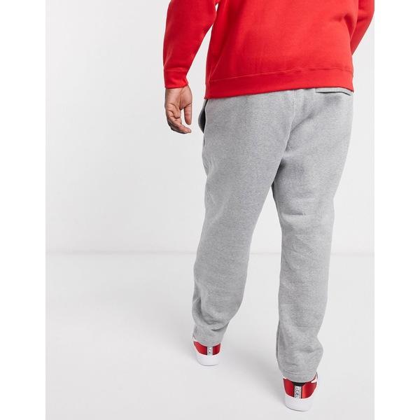 ナイキ メンズ カジュアルパンツ ボトムス Nike Club Plus straight leg sweatpants in gray Gray