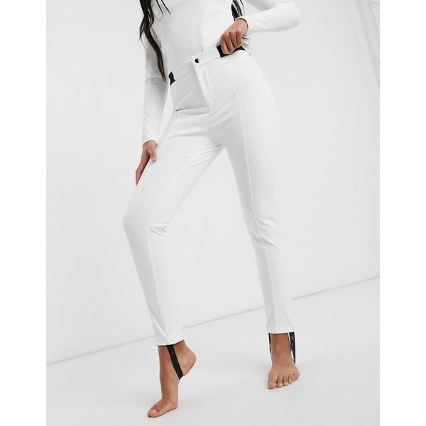 ミスガイデッド レディース レギンス ボトムス Missguided ski leggings in white White
