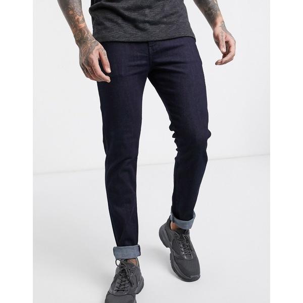 ドクターデニム メンズ デニムパンツ ボトムス Dr Denim Snap slim jeans Blue