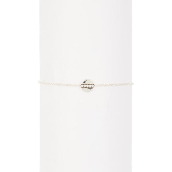 イッポリスタ レディース アクセサリー 格安激安 ブレスレット バングル 祝開店大放出セール開催中 アンクレット SILVER 全商品無料サイズ交換 Cherish Sterling 0.21 - Bracelet Interlaced ctw Silver Accent Diamond Links