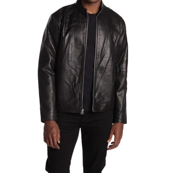 ラグアンドボーン メンズ ジャケット&ブルゾン アウター Archie Leather Jacket BLK
