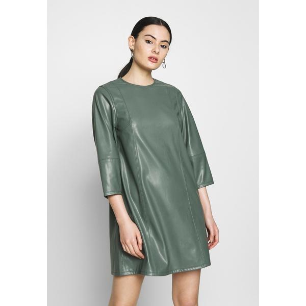 ウィークデイ レディース トップス ワンピース dark dusty 超安い green dress 全商品無料サイズ交換 Day DRESS - 新色追加 MERAL efuy021c