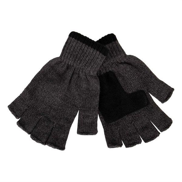 リーバイス メンズ アクセサリー 手袋 セール 登場から人気沸騰 Marled Charcoal Gloves Knit 全店販売中 Fingerless 全商品無料サイズ交換 Heathered