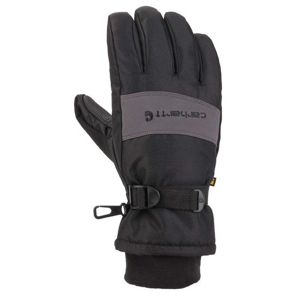 カーハート 特売 メンズ アクセサリー 手袋 Black Grey Glove 人気 全商品無料サイズ交換 Waterproof Insulated Wp