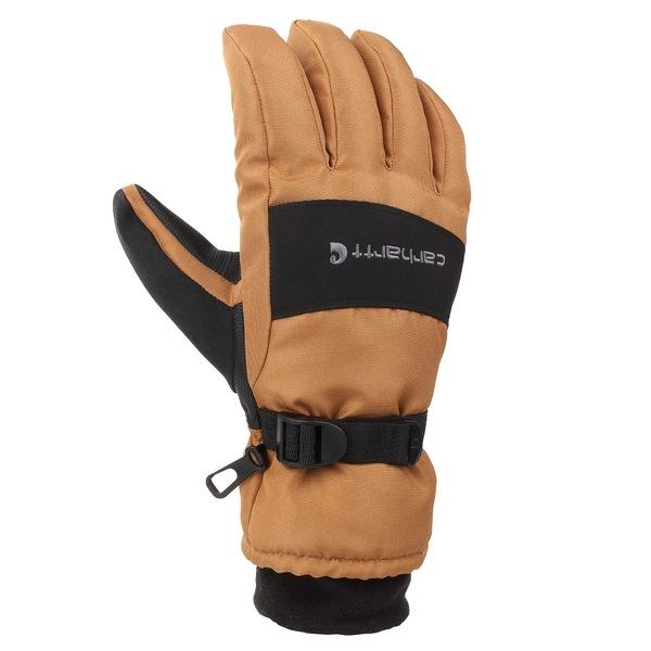 カーハート メンズ アクセサリー 手袋 Brown Black 爆売りセール開催中 Wp Waterproof Glove 迅速な対応で商品をお届け致します 全商品無料サイズ交換 Insulated