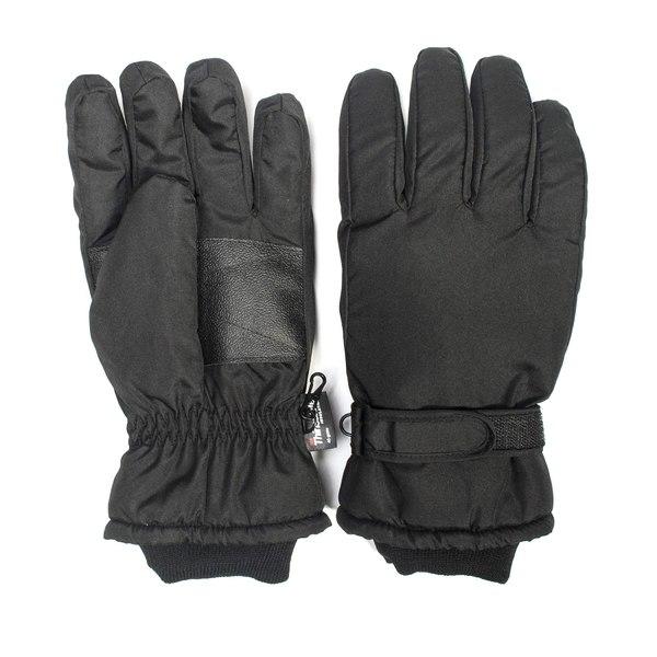 ムクルクス メンズ アクセサリー 手袋 公式ショップ Black 全商品無料サイズ交換 Thinsulate Waterproof Luks Muk マーケット Gloves-black