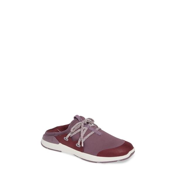 オルカイ レディース スニーカー シューズ Miki Li Convertible Sneaker Mauve/ Plum Fabric