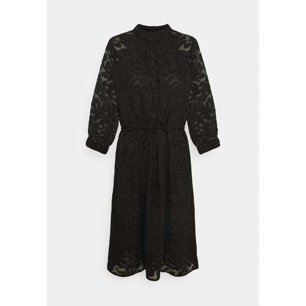 再入荷/予約販売! セレクテッドフェム レディース トップス ワンピース アウトレットセール 特集 black 全商品無料サイズ交換 SLFREESE-DAMINA - dress SHORT DRESS Day eipn0155