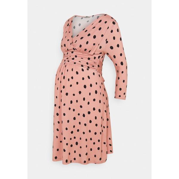 eipn0156 レディース ワンピース dusty トップス ラブ rose トゥー DRESS NURSING - dress - ウェイト Jersey
