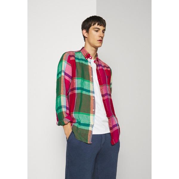 ラルフローレン メンズ 中古 トップス 評価 シャツ red green eizw0055 全商品無料サイズ交換 Shirt - PLAID