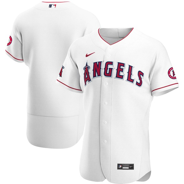 ナイキ メンズ ユニフォーム トップス Los Angeles Angels Nike Home 2020 Authentic Team Jersey White
