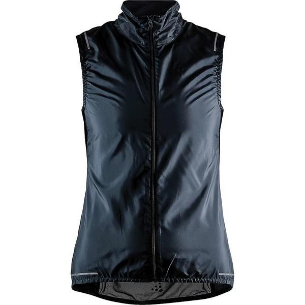 【送料無料/即納】  クラフトスポーツウェア レディース ジャケット&ブルゾン アウター Craft Sportswear Women&39;s Essence Light Wind Vest Black, 靴のセレクトショップ Lab 0347e8c1