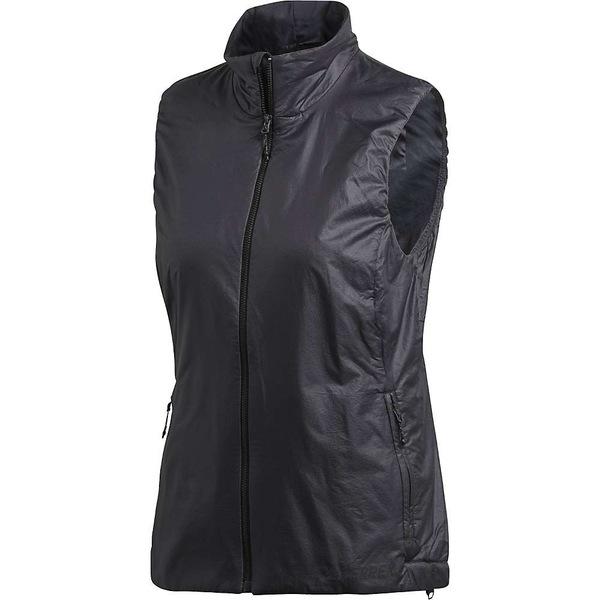 アディダス レディース ジャケット&ブルゾン アウター Adidas Women's Agravic Alpha Vest Carbon