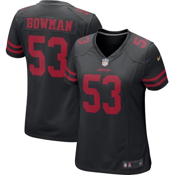 ナイキ レディース シャツ トップス NaVorro Bowman San Francisco 49ers Nike Women's Alternate Game Jersey Black