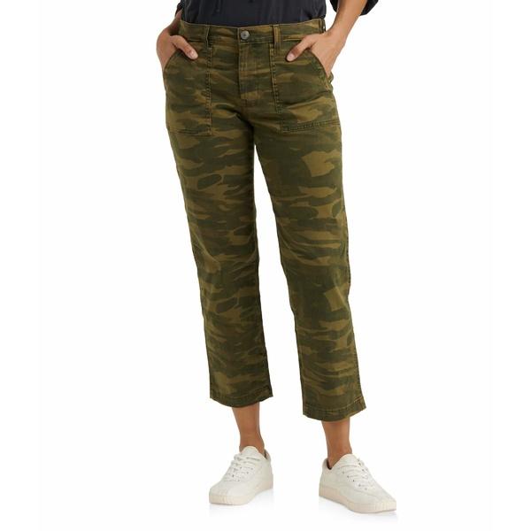 ラッキーブランド レディース カジュアルパンツ ボトムス Boyfriend Utility Pants Classic Camo