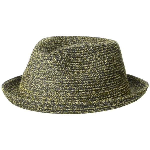 ベーリー オブ ハリウッド メンズ 帽子 アクセサリー Billy Black/Mustard