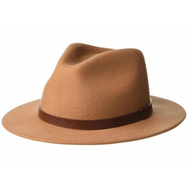 ブリクストン メンズ 帽子 アクセサリー Messer Fedora Hide