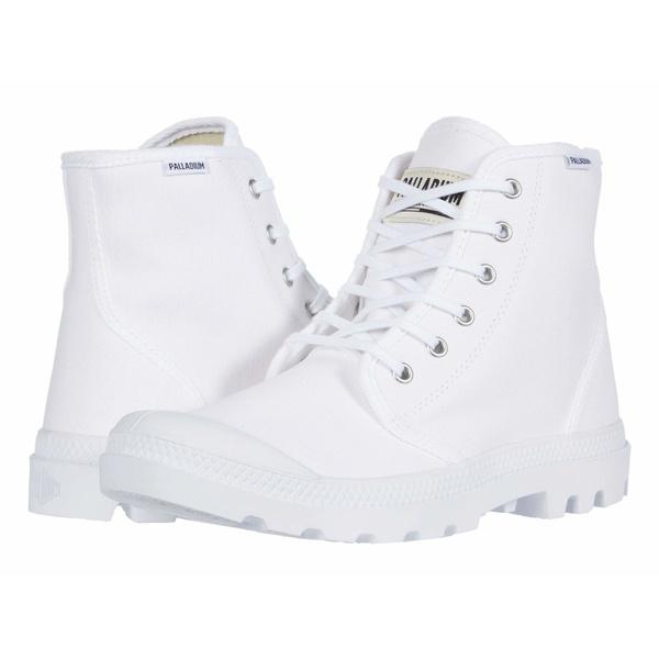 パラディウム メンズ ブーツ&レインブーツ シューズ Pampa Hi Originale White/White