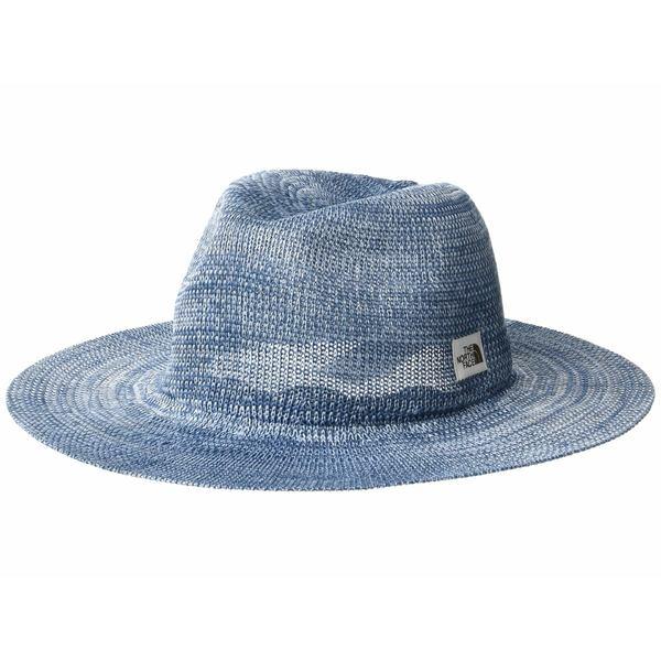 ノースフェイス レディース 帽子 アクセサリー Packable Panama Hat Angel Falls Blue Marl