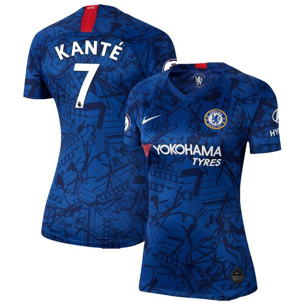 ナイキ レディース ユニフォーム トップス N'Golo Kante Chelsea Nike Women's 2019 Home Breathe Stadium Replica Jersey Blue