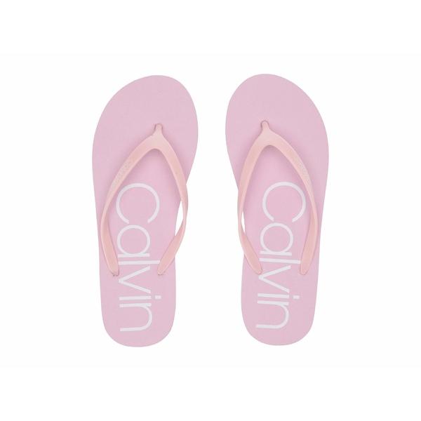 カルバンクライン レディース サンダル シューズ Salma Pastel Pink/White