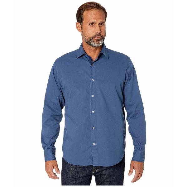 ブガッチ メンズ シャツ トップス Savignano Classic Fit Shirt Steel