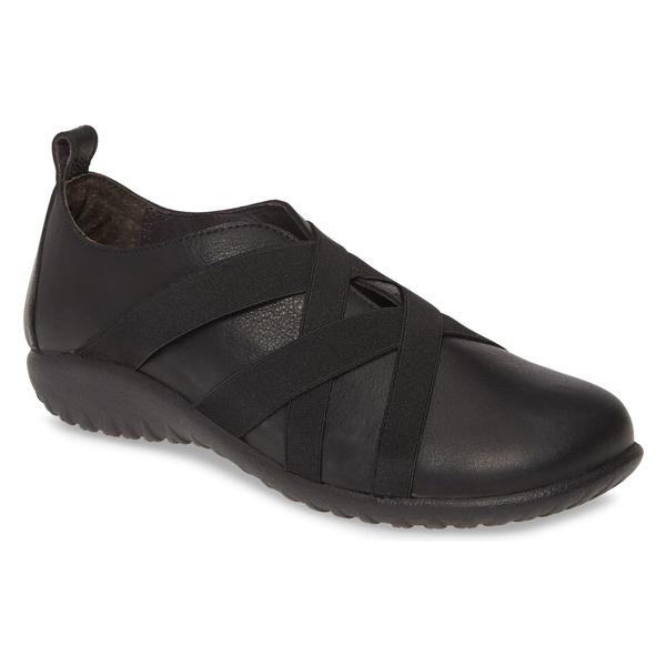 ナオト レディース スニーカー シューズ Naot Apera Sneaker (Women) Soft Black Leather