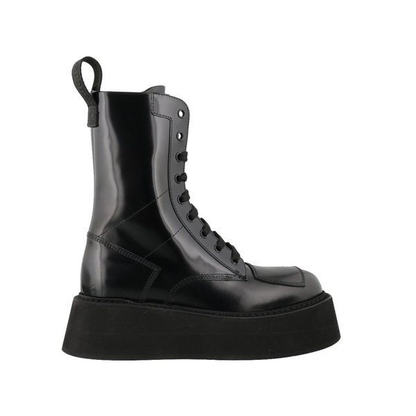 【楽ギフ_包装】 ジーシーディーエス レディース ブーツ&レインブーツ シューズ GCDS Lace-Up Combat Boots -, 仮設トイレなら建設ラッシュ b0e3625b