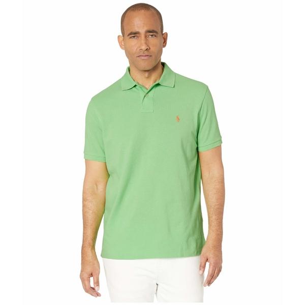 ラルフローレン メンズ シャツ トップス Custom Slim Fit Mesh Polo New Lime