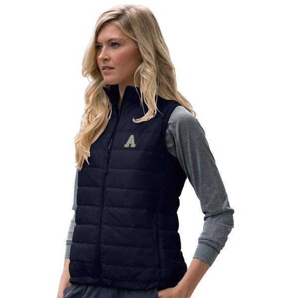ビンテージアパレル レディース ジャケット&ブルゾン アウター Army Black Knights Women's Apex Compressible Quilted Vest Black