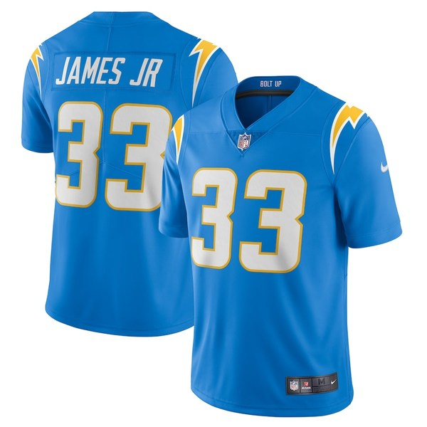 ナイキ メンズ シャツ トップス Derwin James Los Angeles Chargers Nike Vapor Limited Jersey Powder Blue