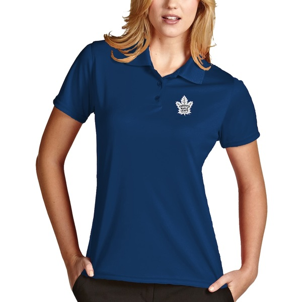 アンティグア レディース ポロシャツ トップス Toronto Maple Leafs Antigua Women's Exceed Desert Dry Xtra-Lite Polo Royal
