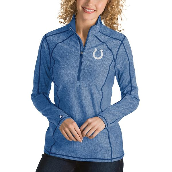 アンティグア レディース ジャケット&ブルゾン アウター Indianapolis Colts Antigua Women's Tempo Desert Dry Quarter-Zip Jacket Heather Royal
