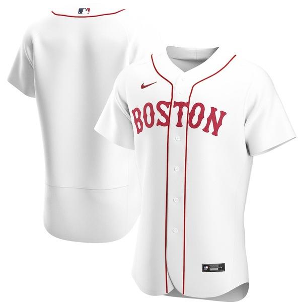 ナイキ メンズ シャツ トップス Boston Red Sox Nike Alternate 2020 Authentic Team Jersey White