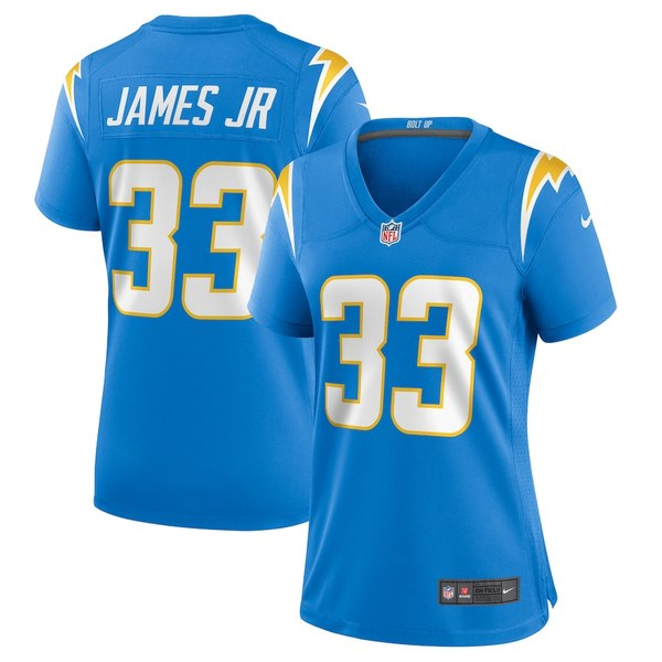ナイキ レディース シャツ トップス Derwin James Los Angeles Chargers Nike Women's Game Jersey Powder Blue