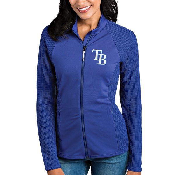 アンティグア レディース ジャケット&ブルゾン アウター Tampa Bay Rays Antigua Women's Sonar Full-Zip Jacket Royal