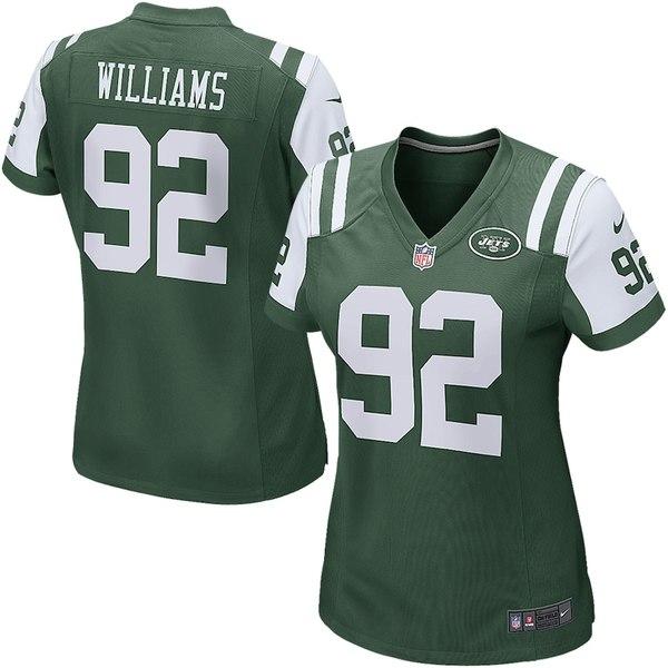 ナイキ レディース シャツ トップス Leonard Williams New York Jets Nike Women's Game Jersey Green