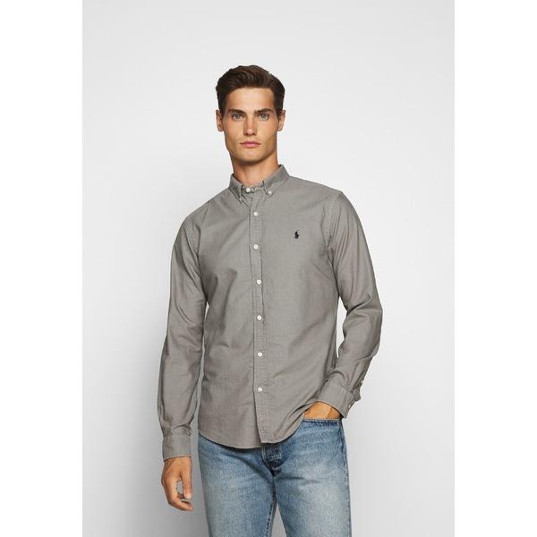 ラルフローレン メンズ トップス シャツ perfect grey 高品質 Shirt - OXFORD 全商品無料サイズ交換 esbk0044 卓越