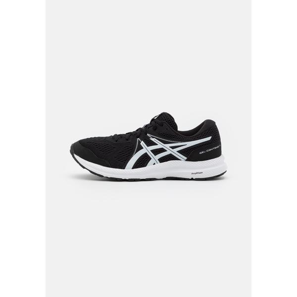 【美品】 アシックス メンズ black/white ランニング スポーツ GEL CONTEND - アシックス 7 - Neutral running shoes - black/white esbk0049, トラック用品百貨ターン:a873a67a --- independentescortsdelhi.in