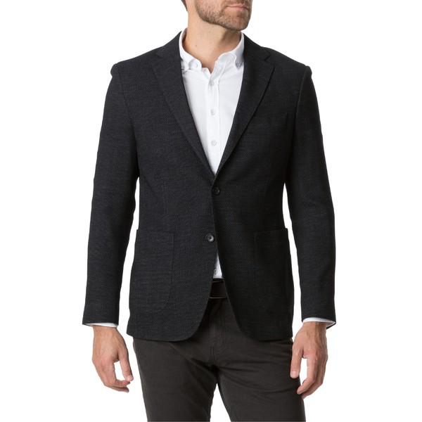 ロッドアンドグン メンズ ジャケット&ブルゾン アウター Rodd & Gunn Haldon Regular Fit Stretch Wool & Cotton Sport Coat Onyx
