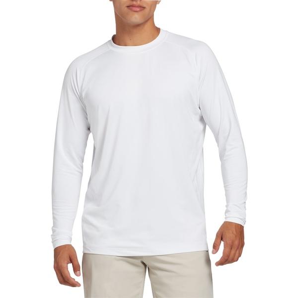 ウォルター・ヘーゲン メンズ シャツ トップス Walter Hagen Men's Cold Weather Baselayer Golf Shirt White