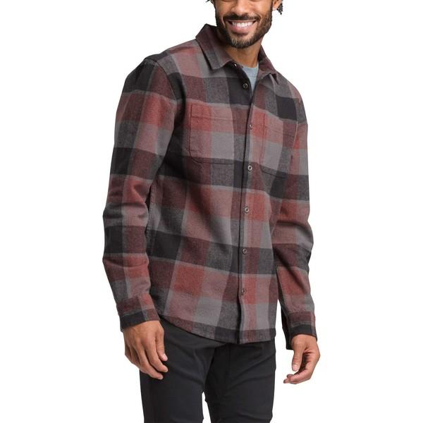 プラーナ メンズ シャツ トップス prAna Men's Brayden Long Sleeve Flannel Shirt Gravel