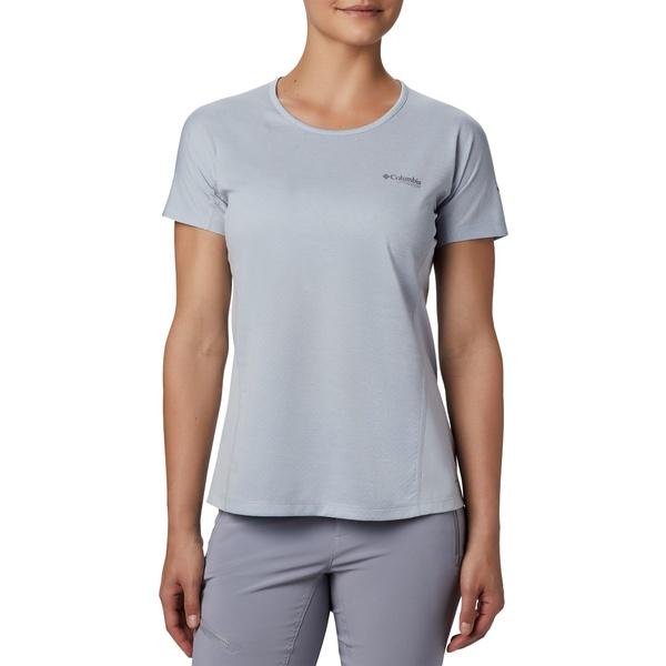 コロンビア レディース シャツ トップス Columbia Women's Irico Knit T-Shirt CirrusGrey
