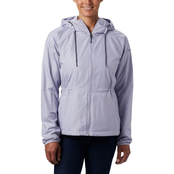 コロンビア レディース ジャケット&ブルゾン アウター Columbia Women's Side Hill Windbreaker Jacket Twilight