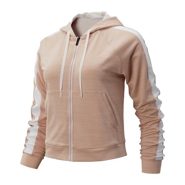 ニューバランス レディース ジャケット&ブルゾン アウター New Balance Women's Transform Jacket WhiteOakHeather